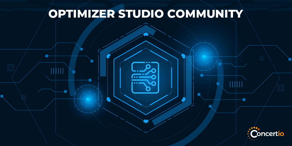 Concertio Launches a Free Community Version of its Optimizer Studio Static Optimization Product
